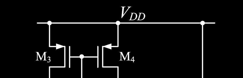 The two stage opamp the small signal low