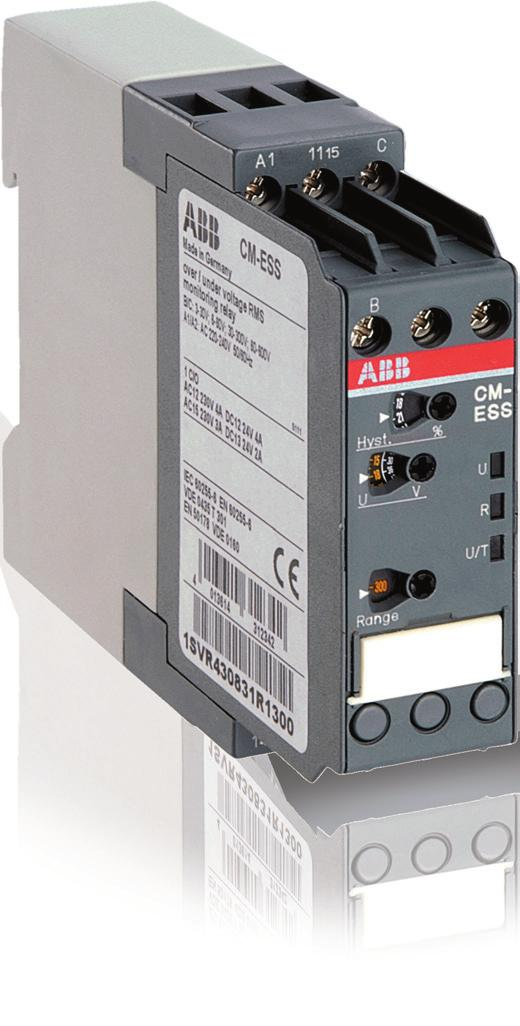 Data sheet Voltage monitoring relays CM-ESS.