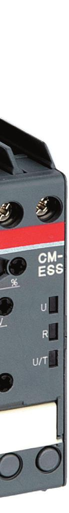 configuration, the voltage monitoring relays CM-ESS.1 can be used for over- d or undervoltage monitoring c in single-phase AC and/or DC systems.