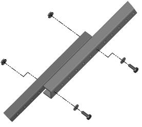 All channels should be parallel and angled 90 degrees to the pole (see image below). B.