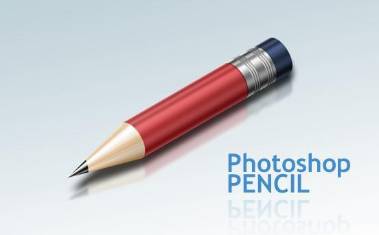 HOW TO CREATE A SUPER SHINY PENCIL ICON Tutorial