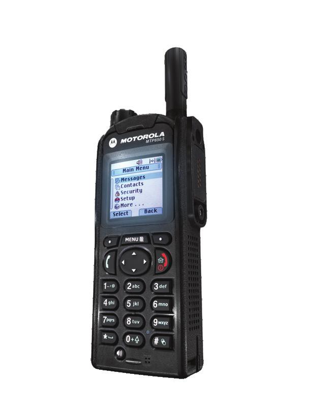 The ultimate in safety, durability and performance. The MTP850 S is Motorola s new TETRA portable terminal for mission critical communications.