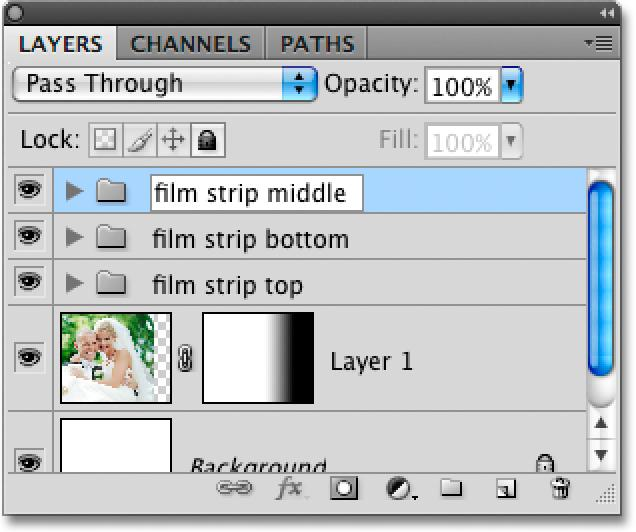 Hold down Shift+Alt (Win) / Shift+Option (Mac) and drag out another copy of the film strip.