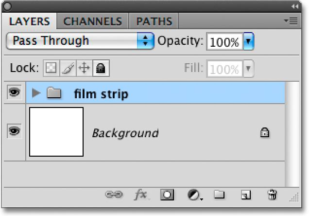 layer group named film strip.