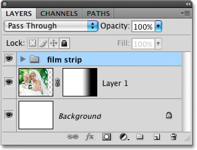 You can close out of the film strip document at this point since we no longer need it.