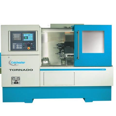 Advanced Lathe Technology Turning and Mill-Turning Tornado CNC Turning Centres provide greater consistency and accuracy because they are built using Colchester s unique Duo-Stable