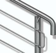 Contents The HEWI brand Introduction 3 Handrails and Balustrades Polyamide True classics 5 Product overview 6 Handrails and Balustrades Stainless steel Elegant effect 9 Product overview 10