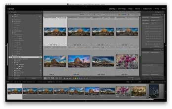 Lightroom Modes Getting Started The majority of your time editing images in Lightroom will be in the LIBRARY mode (G) and the DEVELOP mode (D).