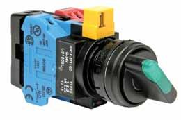 ømm - HW Series Illuminated Selector Switches -Position (Assembled) ircuit Breakers Blocks ontactors Timers elays & Sockets Signaling ights -Position Illuminated Selector Switches ontact perator