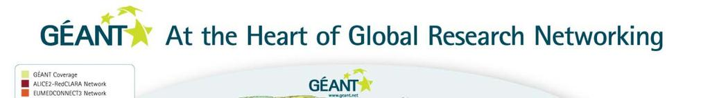 GEANT GÉANT is the hub