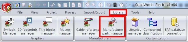 Creating a New Manufacturer Part To create a new manufacturer part that does not yet exist in the catalog: 1.