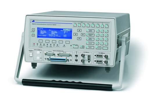 Telecommunications 2852/S & 2853/S Digital Analyzers Desktop and rackmountable digital testers for PCM and data applications up to including mux/demux PCM and data pattern generator and error