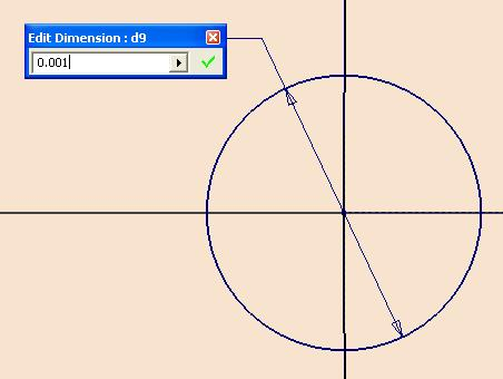 Inventor (10) Module 1H: 1H- 17 Next, select the Trim tool to trim off the tiny segment of arc as shown in Figure 1H-4K; right-click for the shortcut menu and choose the Done option to exit the Trim