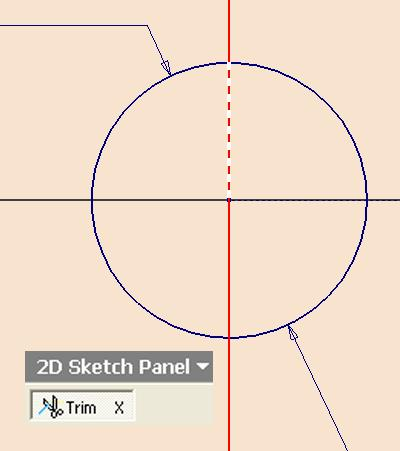 Next, click the Return button on the Inventor Standard tool bar; go to the View Isometric menu to switch to an isometric view (Figure 1H-4N).