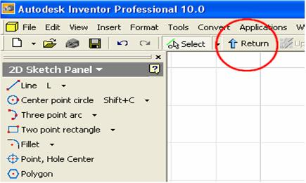 Launch Autodesk Inventor. Create a new sheet metal file (go to the menu File New, or click on the New icon on Standard Tool Bar. The Open window appears.