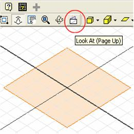 Inventor (10) Module 1H: 1H- 6 move the cursor closer to the projected Center