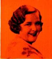 KATE SMITH NO FEMININE radio entertainer ever bounced into radio popularity more suddenly than Kate Smith, songbird for La Patina.