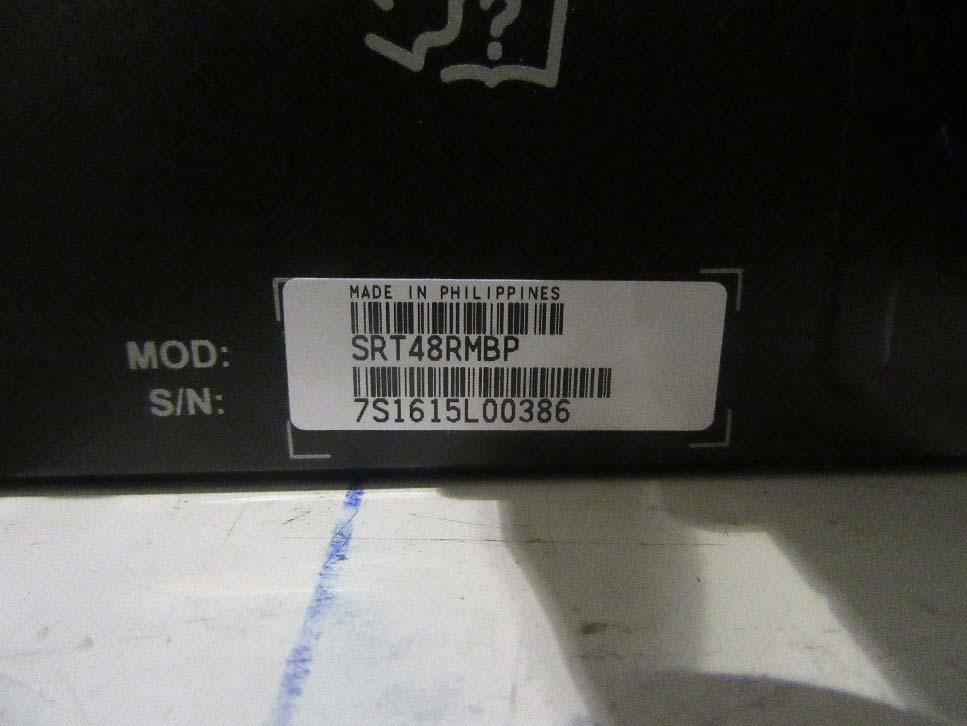 serial number on the battery pack Report