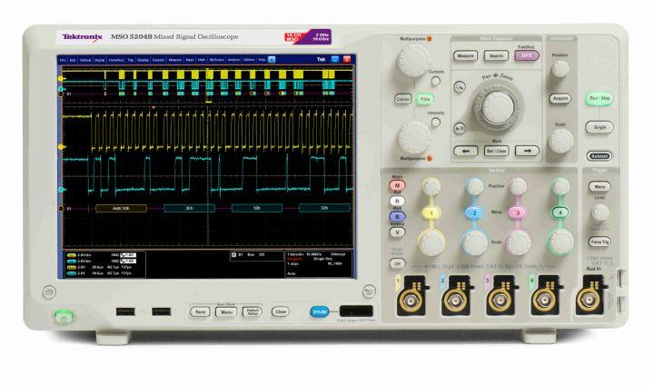 Mixed Signal Oscilloscopes MSO5000B, DPO5000B Series Datasheet Designing with today s faster data rates and tighter timing margins requires an oscilloscope with outstanding signal acquisition