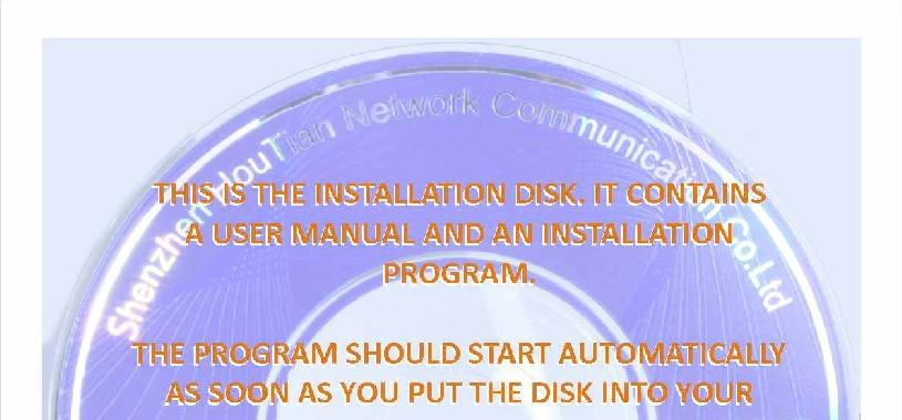 Installing the disk software What s on the disk supplied with the wifi bridge The software on
