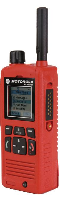 Specification Sheet MTP850Ex ATEX TETRA Terminal High performing communication and user safety Part of Motorola s market leading range of ATEX TETRA terminals, the MTP850 Ex provides high quality