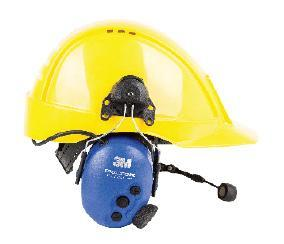 TWIN CUP HEADSETS* For operations in very noisy environments.