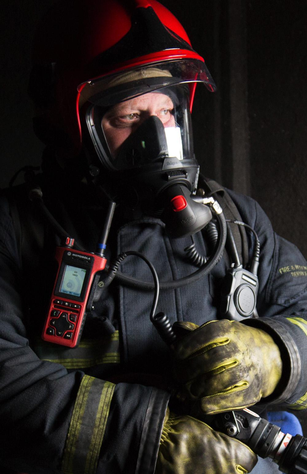 FIRE ACCESSORIES ACTIVE NOISE CANCELLING RSM Communicate in the most demanding Fire Ground environments.