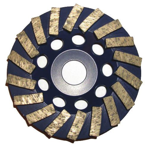 05-10720C 7 Diameter Cougr Litex Wheel #36 Grit Litex style disc used to remove thick coatings, mastic,