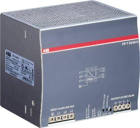 The devices can be supplied with a three-phase voltage as well as with two-phase mains.