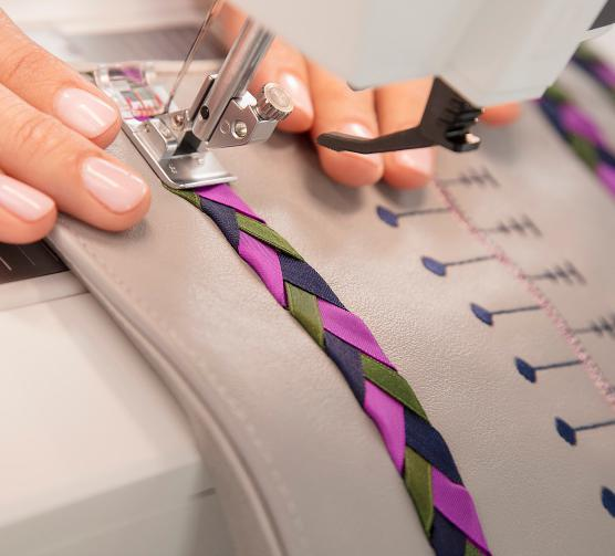 The PFAFF creative icon sewing and embroidery machine will take you any place you and your creativity want to go. Sew with the Most Advanced Technology.