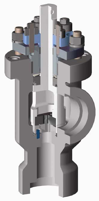 STEAM CHOKE VALVES The Valvtechnologies steam choke is designed for the harsh conditions associated with steam injection.