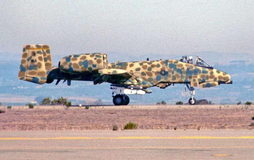 Figure 5. A-10A at JAWS Trials At the delivery of the 100 th A-10A, the Pentagon christened the aircraft the Thunderbolt II.