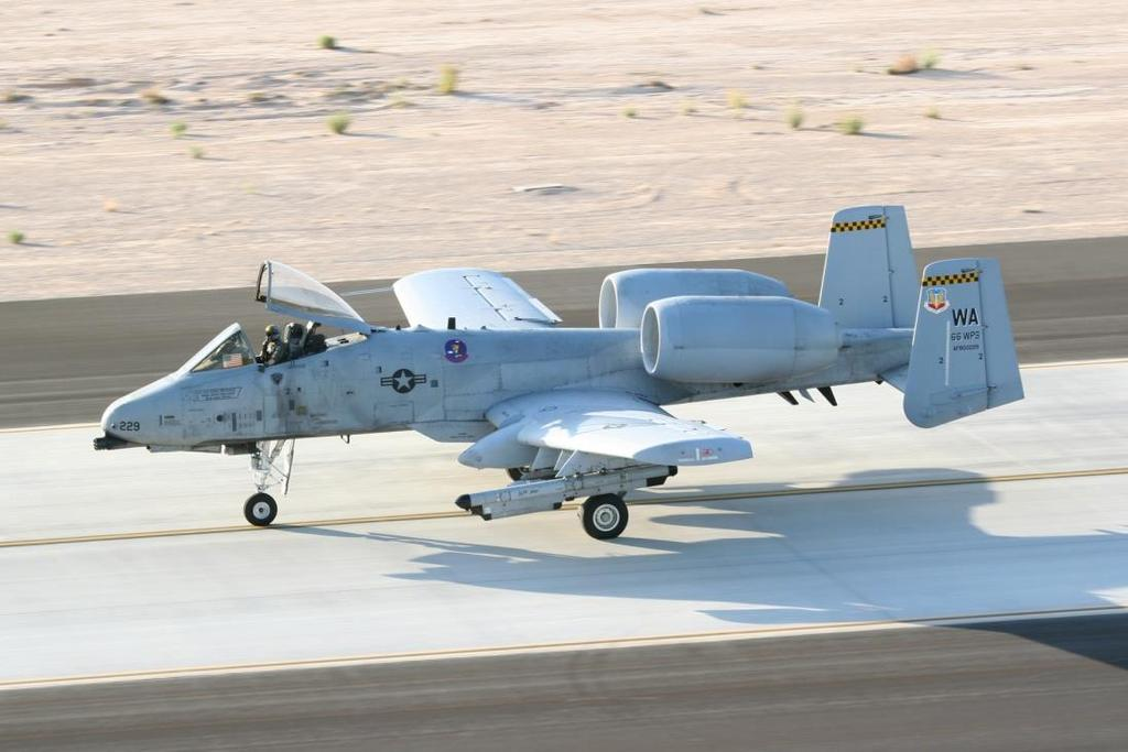 Figure 6. A-10 in current operational colors A-10 Evolution The A-10 has received many upgrades over the years.