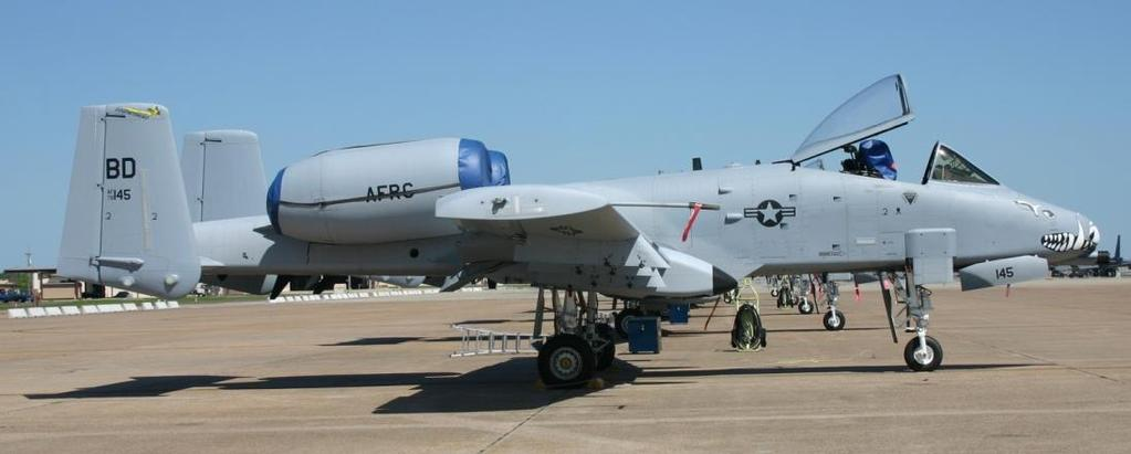 Operational Use The first operational unit to receive the A-10 was the 355th Tactical Training Wing, based at Davis- Monthan Air Force Base in Arizona in March of 1976.