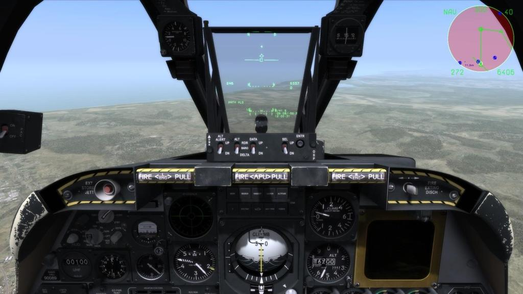 """GAME"" AVIONICS MODE The Game Avionics Mode provides ""arcade-style"" avionics that make the game more accessible and familiar to the casual gamer."