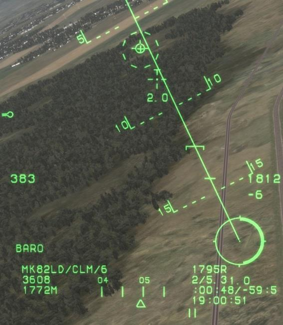 Unguided Bomb Delivery Modes There are two delivery modes for unguided bombs in game: Continuously Computed Impact Point (CCIP) and the Continuously Computed Release Point (CCRP).