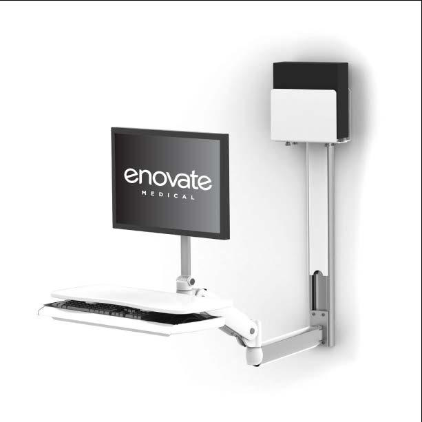 WELCOME The Enovate Medical e997 Articulating Wall Arm was designed to set a new standard in quality.