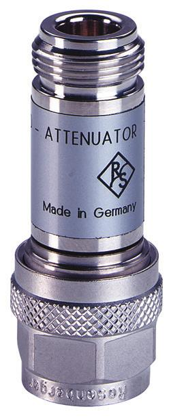 Attenuators As a rule, the reflection coefficient of commercial signal generators or test receivers is about %. This value may be too high for precise measurements.