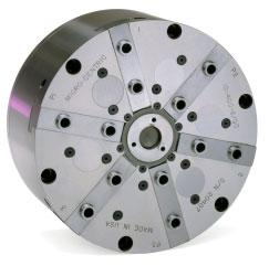 HST series chucks feature a titanium chuck body for low mass and inertia.