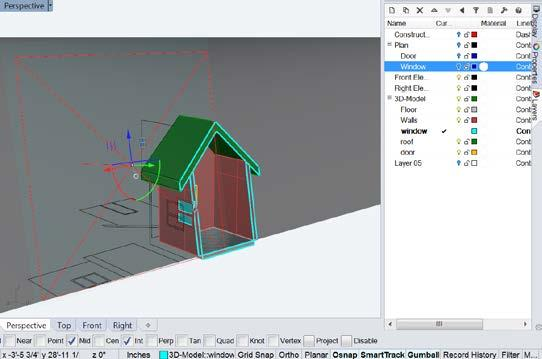 The purposes are to get you familiar with the basic concepts of 3D modeling in Rhino.