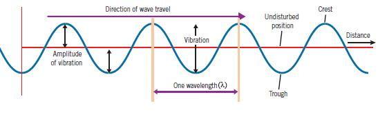 Waves can be grouped into one of two types, longitudinal or transverse.