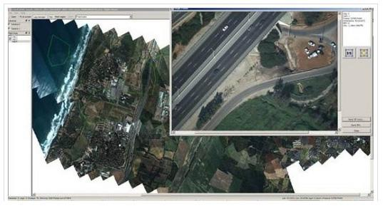 Vilan, Gozes 55 triangulation block can consist of up to 250,000 images which for 25 cm GSD will cover the area of 36,000 sq.km for orthophoto production. LightSpeed version 3.