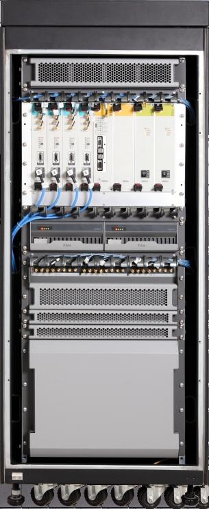 National-wide network Maximum can support 1600 sites High reliability with Central Switch and Inner BS redundancy System supports MSO, BSCU, Control channel, PSU, DVRS, dispatch system redundancy and