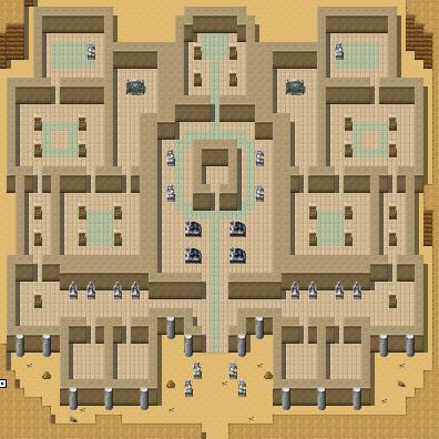 to them. Ancient Ruins The boss room is in the middle.