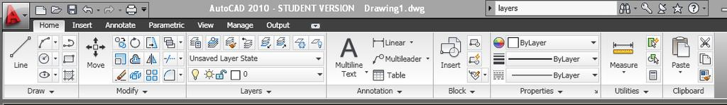 "Workspace Setup should read ""2D Drafting & Annotation"" found in the bottom right corner of the screen."