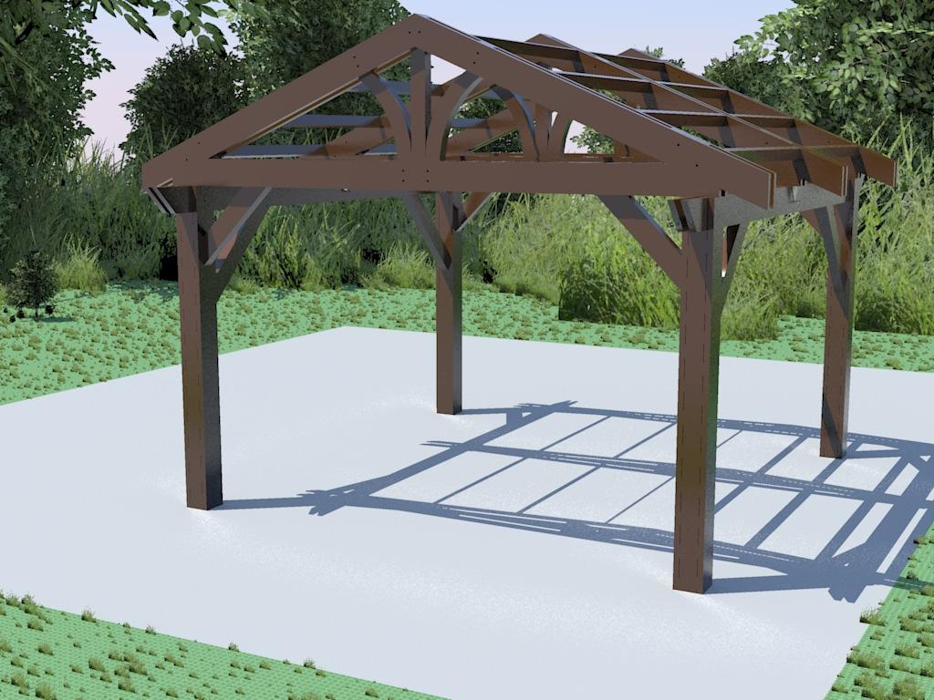 Lodge II Pergola Manual and Installation Instructions