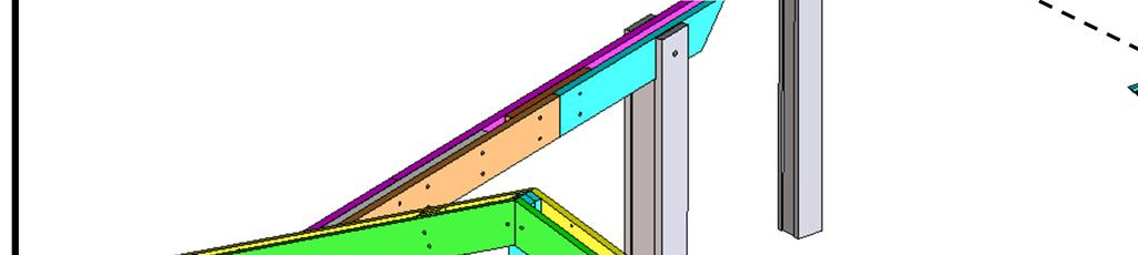 lower into place on columns with beams O