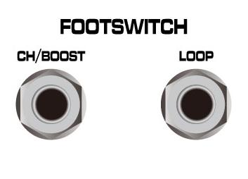 Tip=Channel and Ring=Boost select.
