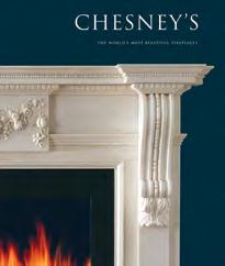 A number of the accessories in this brochure are shown with hand carved fire surrounds from Chesney s range of period and contemporary stone and marble fireplaces.