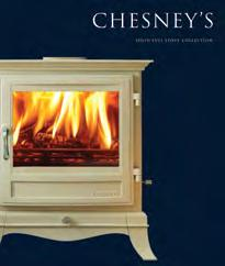 Also featured in this brochure are stoves from Chesney s solid fuel stove collection. Separate full colour brochures are available illustrating these ranges.